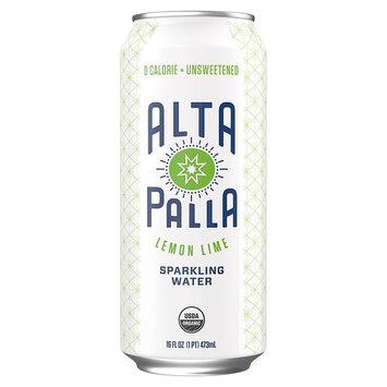 Alta Palla Organic Sparkling Water, Lemon Lime, 16 fL oz 12 Count [Lemon Lime]