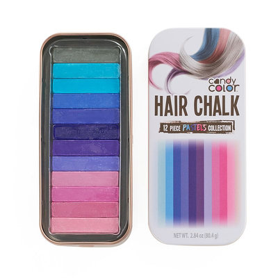 Candy Color Hair Chalk - Pastels Collection, Multicolor