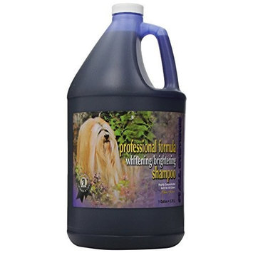 #1 All Systems Professional Formula Whitening Dog and Cat Shampoo, 1-Gallon : Pet Shampoos : Pet Supplies