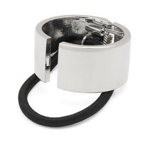 Scunci Cuff Ponytail Holder, Women's, Silver