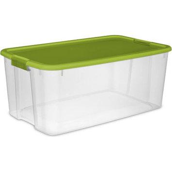 Sterilite Corporation Sterilite 116-Quart EZ Carry Ultra Storage Box, Spicy Lime