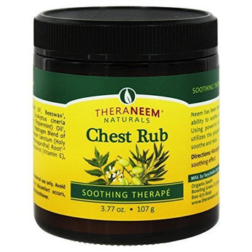Neem, Vaporizing Chest Rub Natural Organix South 3.77 oz Balm