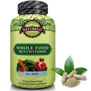 Naturelo Whole Food Multivitamin for Men - Vegan/Vegetarian - 240 Capsules