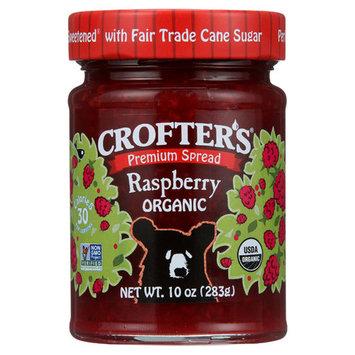 Crofters Premium Spread - Raspberry 10 oz Jars - Pack of 3