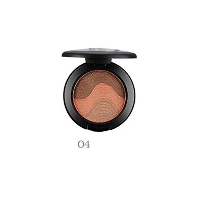 Eyeshadow Blush Palette Big Promotion!ZYooh Pro Face Makeup Baked Cheek Color Blusher Eyeshadow 3 Colors Makeup Palette