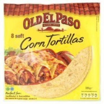 El Paso 8 Soft Corn Tortillas - 335g