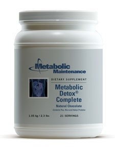 Metabolic Detox Complete Chocolate 21 srvg by Metabolic Maintenance