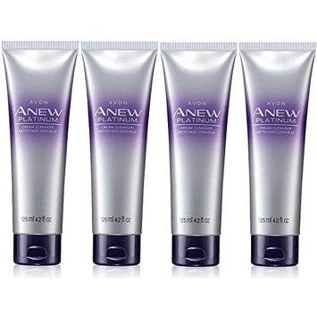 Avon Anew Platinum Cream Cleanser Lot of 4