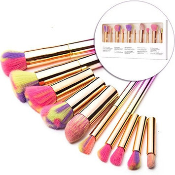 ICYCHEER Makeup Brushes Premium Makeup Brush Set Synthetic Kabuki Cosmetics Foundation Blending Blush Eyeliner Face Powder Brush Makeup Brush...
