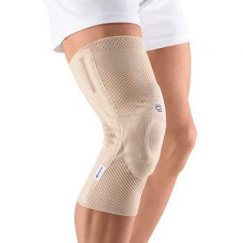 Bauerfeind 11041403010706 GenuTrain P3 Knee Support - Nature - Size Left 6