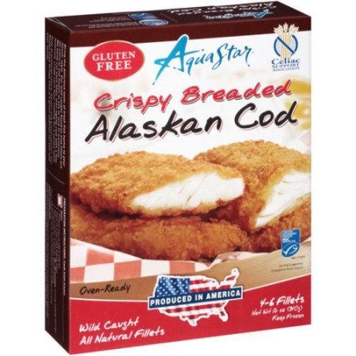 Aqua Star Crispy Breaded Alaskan Cod, 12 oz