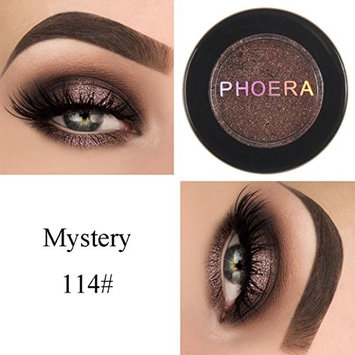 HP95(TM) PHOERA Eyeshadow Glitter Shimmering Colors Bright Metallic Eye Makeup Cosmetic