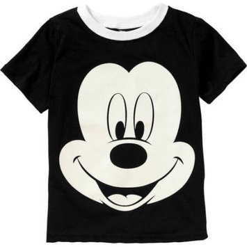 Childrens Apparel Network Black Mickey Mouse Tee - Boys