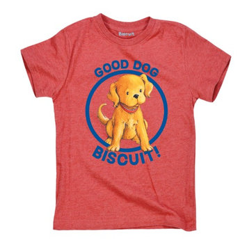 Kidteez Biscuit the Little Yellow Puppy? Good Dog - Toddler Short Sleeve Tee