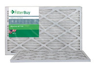 AFB Platinum MERV 13 11.5x21x1 Pleated AC Furnace Air Filter. Filters. 100% produced in the USA. (Pack of 2)