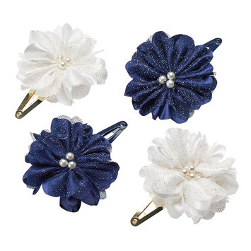 Carter's 4-Pack Plume Floral Hair Clips