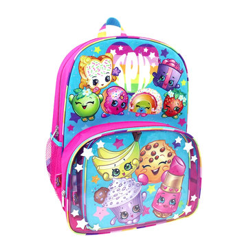 Shopkins Backpack & Lunch Tote Set, Multicolor