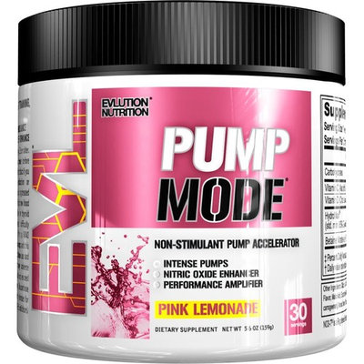 Evlution Nutrition Pump Mode Nitric Oxide Booster to Support Intense Pumps, Performance and Vascularity