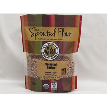 1 lb. Organic, Sprouted Barley