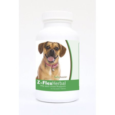Healthy Breeds 840235134749 Puggle Natural Joint Support Chewable Tablets - 60 Count