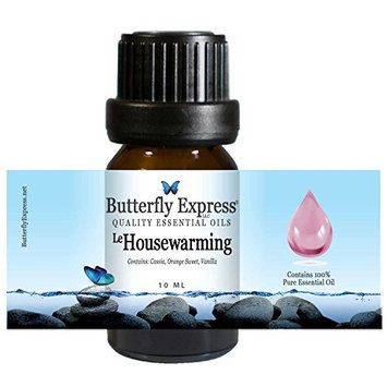 Le Housewarming Essential Oil Blend 10ml - 100% Pure - by Butterfly Express