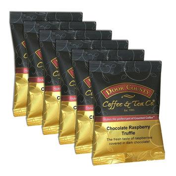 Door County Coffee Chocolate Raspberry Truffle Ground Coffee 6-pk, Multicolor