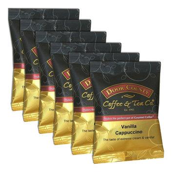 Door County Coffee Vanilla Cappuccino Ground Coffee 6-pk, Multicolor