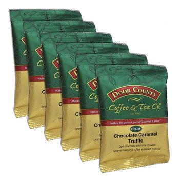 Door County Coffee Decaf Chocolate Caramel Truffle Ground Coffee 6-pk, Multicolor