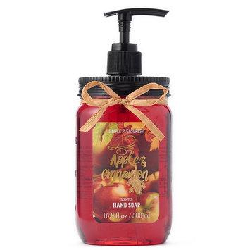 Simple Pleasures Mason Jar Apple Cinnamon Hand Soap, Ovrfl Oth