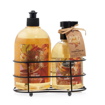 Simple Pleasures Honey Almond Hand Soap and Dish Soap Set, Ovrfl Oth