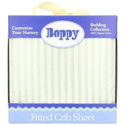 Boppy Organic Crib Sheet, Tan Pinstripe (Discontinued by Manufacturer)