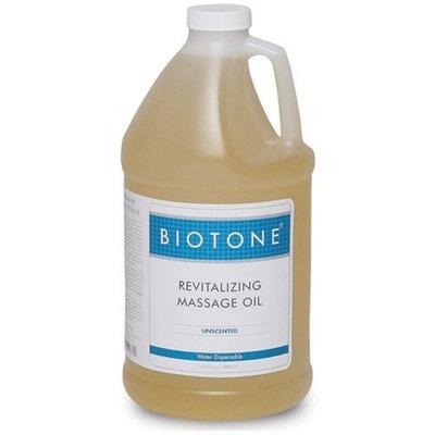 Biotone Revitalizing Unscented Massage Oil, 64 Ounce