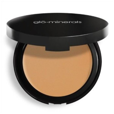 GloMinerals Pressed Base Powder Foundation, Honey Medium, 0.35 Oz
