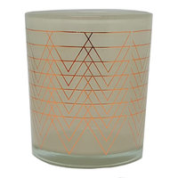 WoodWick Metallic Flickering Fireside 9-oz. Candle Jar, Grey