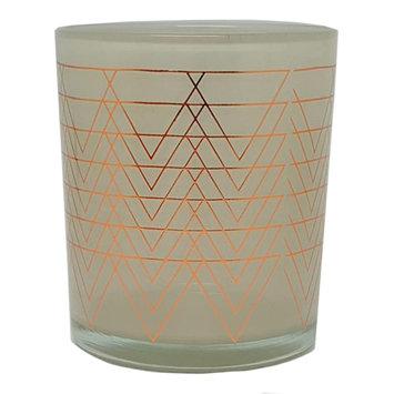 WoodWick Metallic Flickering Fireside 9-oz. Candle Jar, Grey