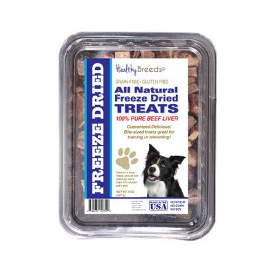 Healthy Breeds 840235148104 10 oz Border Collie All Natural Freeze Dried Treats Beef Liver