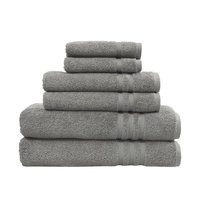 Linum Home Authentic Hotel and Spa Omni Turkish Cotton 6-piece Terry Bath Towel Set