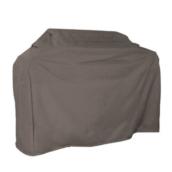 KHOMO GEAR - TITAN Series - Waterproof Heavy Duty BBQ Grill Cover - Grey XX-Large 72 x 26 x 51 - Dif