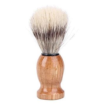 Gowind7 Men's Shaving BrushBlack Badger Hair Men's Shaving Brush Barber Salon Facial Beard Cleaning