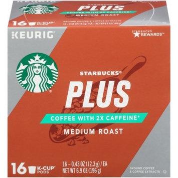 Starbucks Plus Medium Roast Coffee - Keurig K-Cup Pods - 16ct