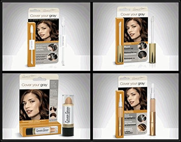 Cover Your Roots Hair Touchup Megapack - 4 Piece Set - Light Brown/Blonde