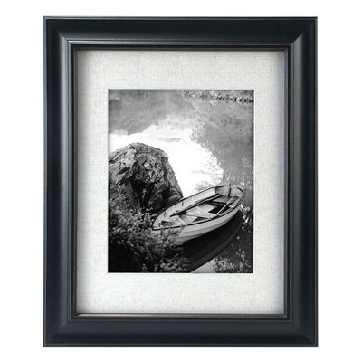 Barnside Picture Frame Color: Black