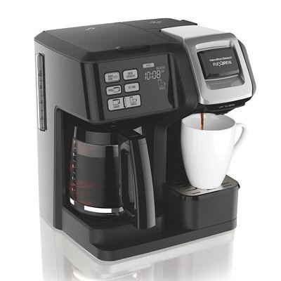 Hamilton Beach FlexBrew 2-Way Coffeemaker, Black