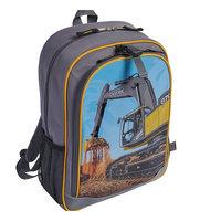 Boys John Deere Photoreal Excavator Backpack, Grey