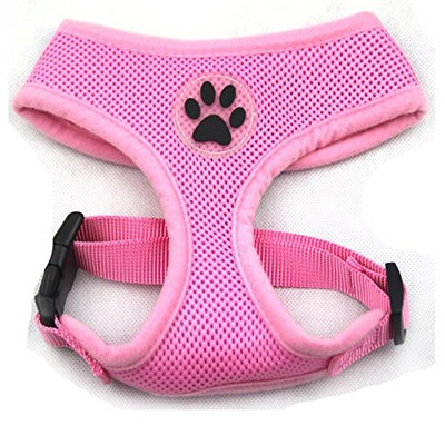 BINGPET BB5001 Soft Mesh Dog Harness Pet Walking Vest Puppy Padded Harnesses Adjustable