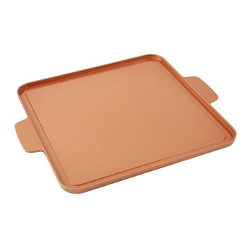 Copper Chef Griddle Plate, Brown