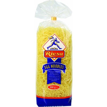 Riesa Thin Egg Noodles, 17.6-Ounce Bags (Pack of 12)