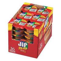 JIF Creamy Peanut Butter (1.5 oz) [PK/36]. Model: