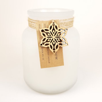 Hawkwood Silver Snow 13.77-oz. Candle Jar, Multicolor