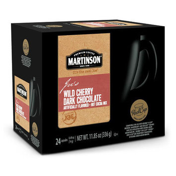 Mother Parker Martinson Hot Chocolate Wild Dark Cherry Chocolate, RealCup Portion Pack For Keurig Brewers